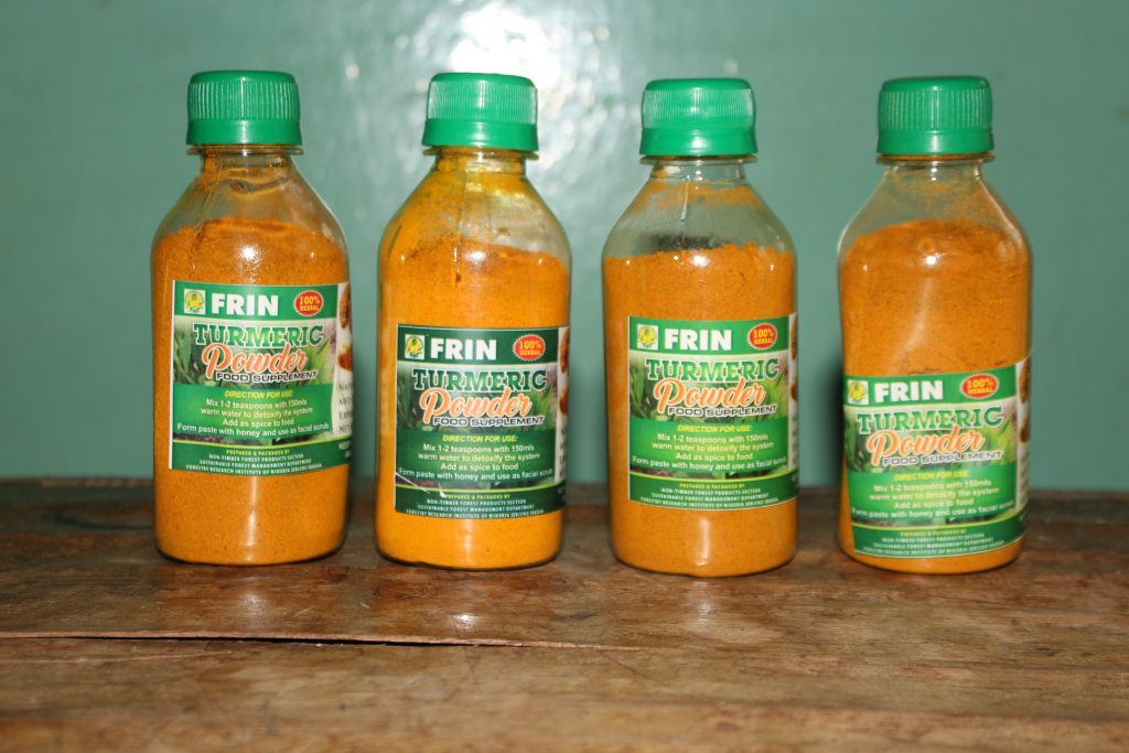 FRIN Tumeric Powder Food Supplement
